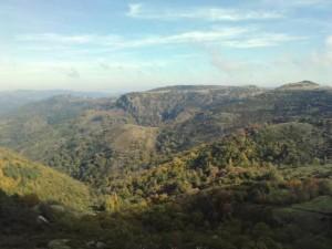 Volcan de la Chirouse – vue depuis le chemin des Combes