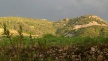 Le plateau du volcan de la Chirouse